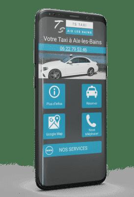 Application Android TS Taxi Aix les Bains